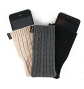 QDOS Pack de 3 Chaussettes Cachemire pour iPhone 3g 3gs/4.4S Limited Edition