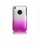 Coque Case Mate bicolore rose et gris iphone 3g 3gs