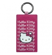 Socquette Hello Kitty rose fushia graphisme anneau m&eacute;tal iphone 3g3gs