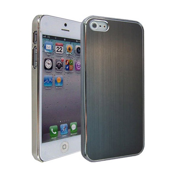 coque vitre arriere alu iphone 4s gris car interior design. Black Bedroom Furniture Sets. Home Design Ideas