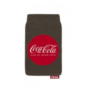 Chaussette universelle Coca Cola Sign of Good Taste rouge et gris