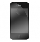 Lot de 2 protections écran transparentes pour iPhone 4/4S