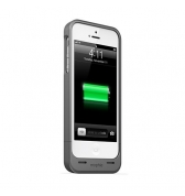 MOPHIE Juice Pack Helium(1,5A)- Coque batterie iPhone 5 - Metal.Black