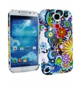 Coque SoftyGel Flower 13 pour Samsung galaxy S4 i9500