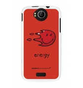 Coque motif Smiley Energy by Moxie pour Wiko Cink Peax