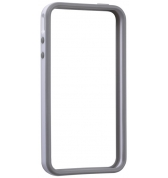 BUMPER BLANC GRIS IPHONE 4 GEAR 4