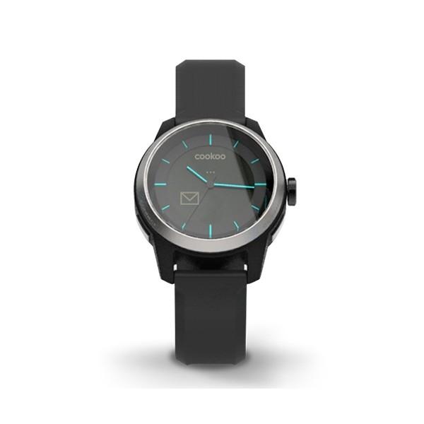 cookoo montre bluetooth intelligente cookoo watch noir cadran noir. Black Bedroom Furniture Sets. Home Design Ideas