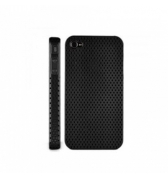 Coque perforee noire iPhone 4