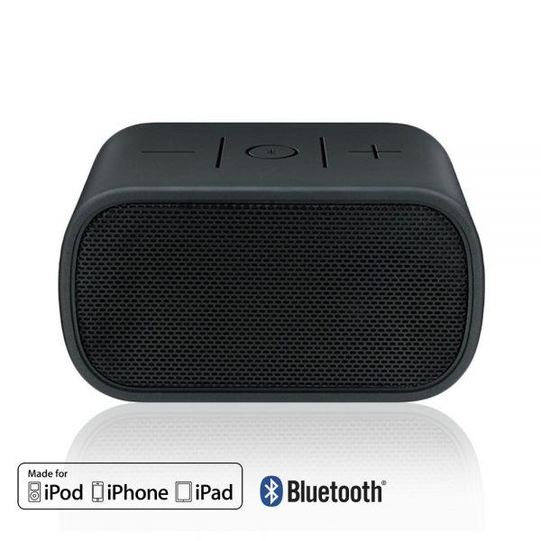 logitech enceinte bluetooth boombox noire pour iphone. Black Bedroom Furniture Sets. Home Design Ideas