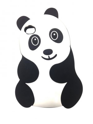Coque silicone Panda pour iPhone 4 / 4S