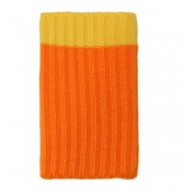 Chaussette de protection orange Iphone 3g 3gs