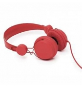 Casque coloud color rouge avec micro pour iphone 4/4S iPhone 3g 3gs Blackberry Samsung