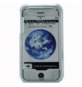 Coque crystal transparente rigide de protection pour iPhone 3G 3GS