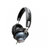 Casque stereo ferme Ifrogz Throw Bax bleu metal