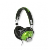Casque stereo ferme Ifrogz Throw Bax vert metallise