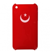 Coque iphone 3g 3gs drapeau turc