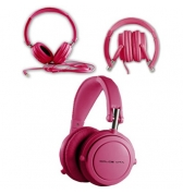 Casque Audio HI FI fushia Dolce Vita Jack 3.5 mm