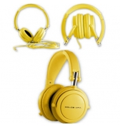 Casque Audio HI FI Jaune Dolce Vita Jack 3.5 mm