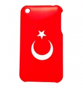 Coque Drapeau Turquie iPhone 3g 3gs