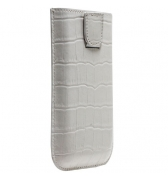 Etui gris croco iphone 3G/3G & 4/4S  pouch up Modelabs
