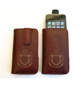 Etui Maclove iphone 3g 3gs Vertical cuir bordeaux