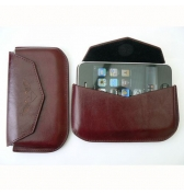 Etui MacLove iphone 3g 3gs cuir bordeaux